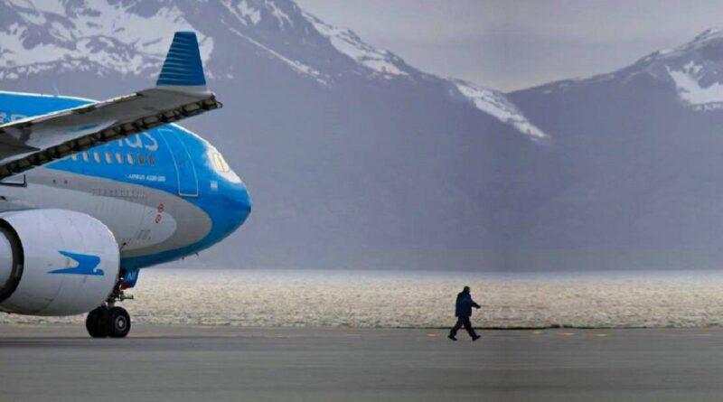 Aerolíneas Argentinas en Ushuaia