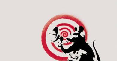 Banksy Radar Rat Signed Print