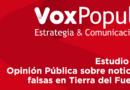 Estudio de Opinión Pública sobre noticias falsas en Tierra del Fuego
